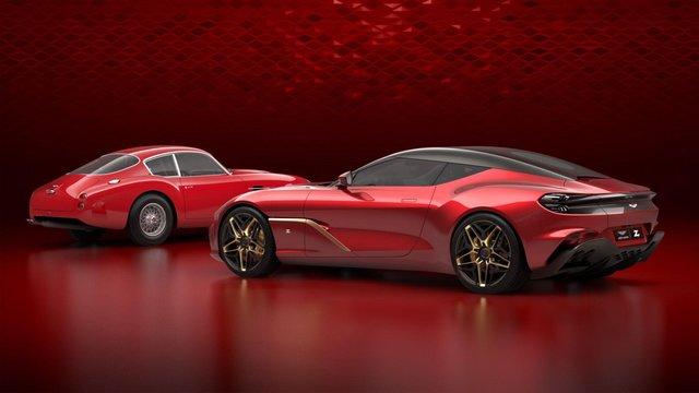 Aston Martin показав фінальний дизайн колекційного DBS GT Zagato - фото 339778