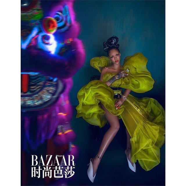 Справжня гейша: Rihanna знялася для глянцю у незвичному для себе образі - фото 339859