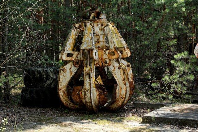 Ковш крана, який використувували під час ліквідації аварії на ЧАЕС - фото 339959