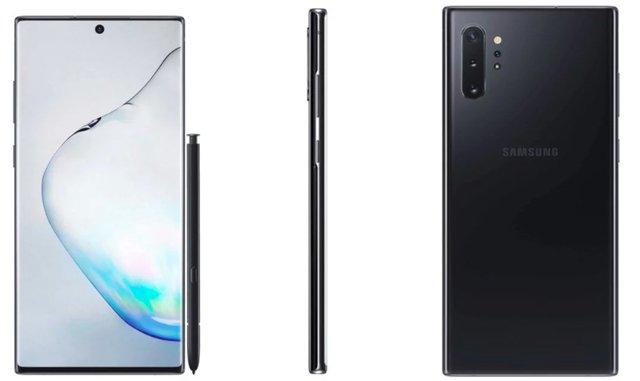 У мережі з'явилися офіційні рендери Samsung Galaxy Note10+ - фото 340160