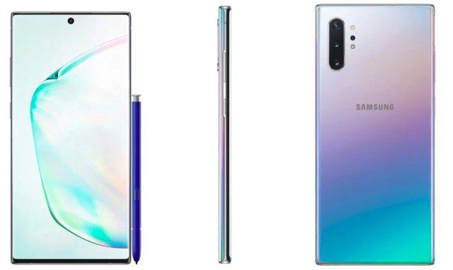 У мережі з'явилися офіційні рендери Samsung Galaxy Note10+ - фото 340161