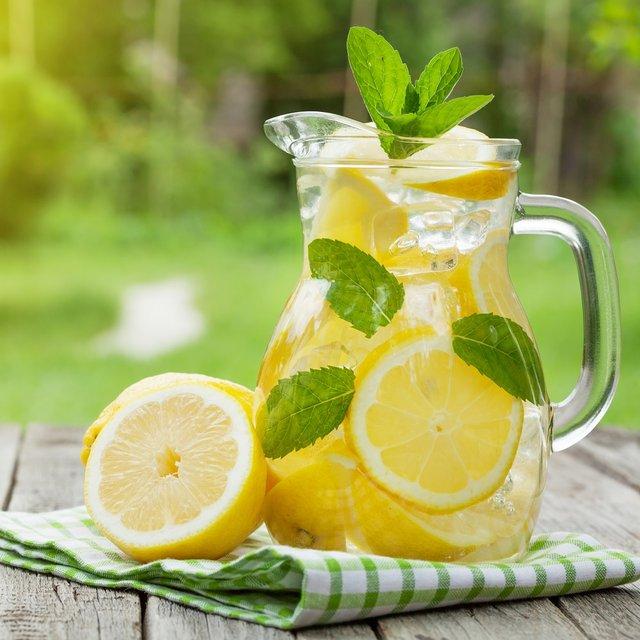 Вода з лимоном  - фото 340230