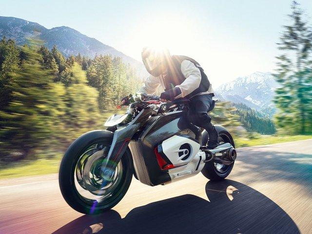 Електромотоцикл Motorrad Vision DC Roadster - фото 340299