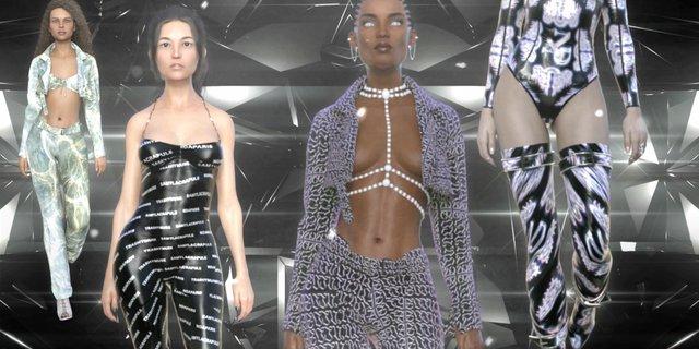 Цифрові моделі уперше взяли участь у віртуальному показі мод - фото 340504