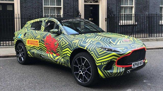 Перший кросовер Aston Martin готують до дебюту: це треба бачити - фото 341078