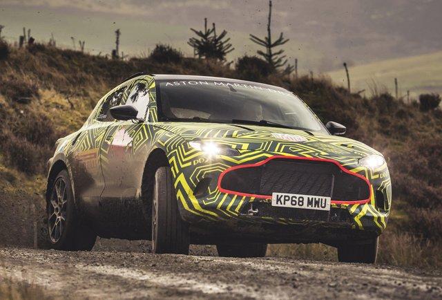 Перший кросовер Aston Martin готують до дебюту: це треба бачити - фото 341080