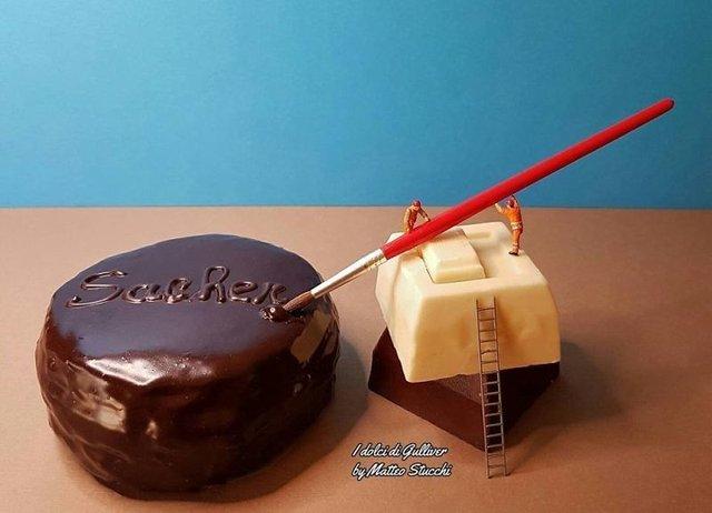 Італійський кондитер створює цілі світи із солодощів - фото 341137