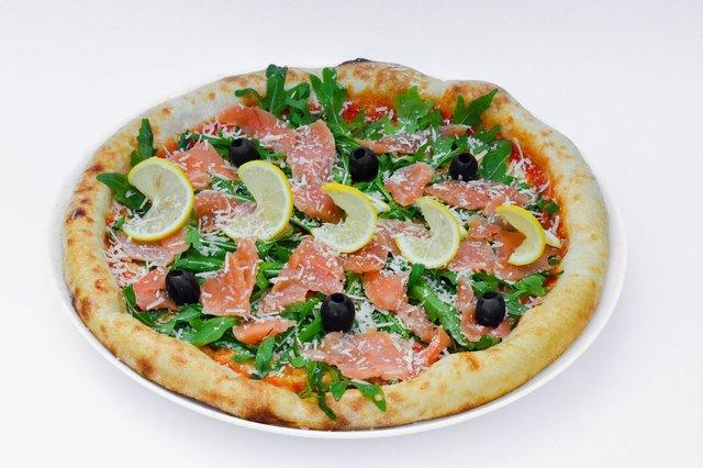 Піца з позолотою  - фото 341448