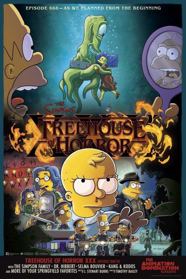 Постер нового епізоду 'Сімпсонів' - фото 341657