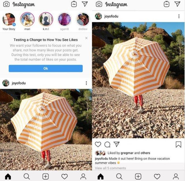 Instagram масово відключає лічильник лайків - фото 341690