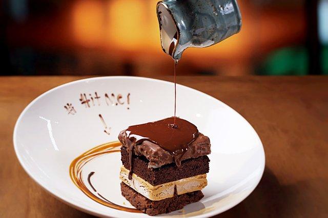 Шоколадний десерт  - фото 341789