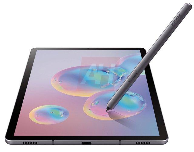 Як виглядає топовий планшет Samsung Galaxy Tab S6: у мережі з'явилися фото - фото 341839
