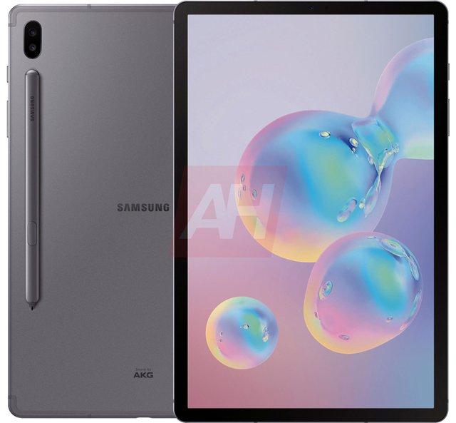 Як виглядає топовий планшет Samsung Galaxy Tab S6: у мережі з'явилися фото - фото 341840