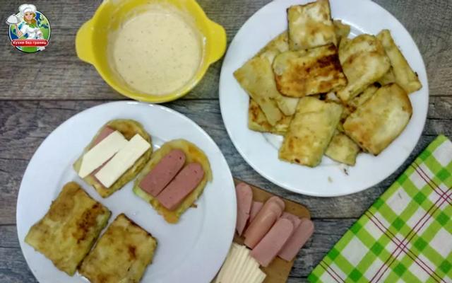 Кабачкові сендвічі всього за 10 хвилин: рецепт - фото 341846