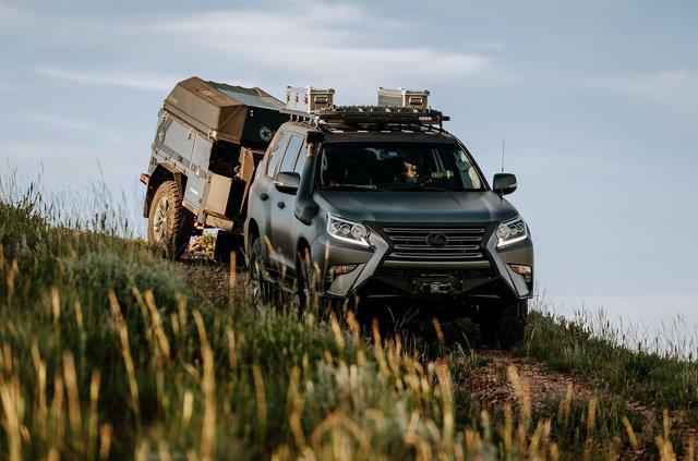 Lexus побудував позашляховик для шукачів пригод - фото 341859