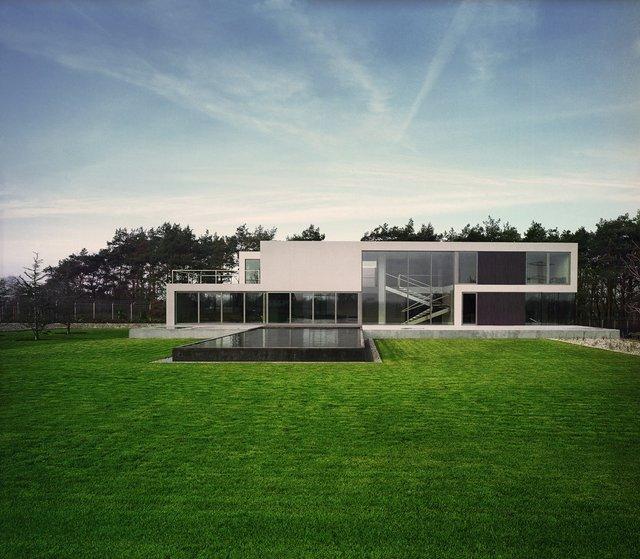 Будинок майбутнього: незвичайний особняк побудували у Польщі - фото 342144