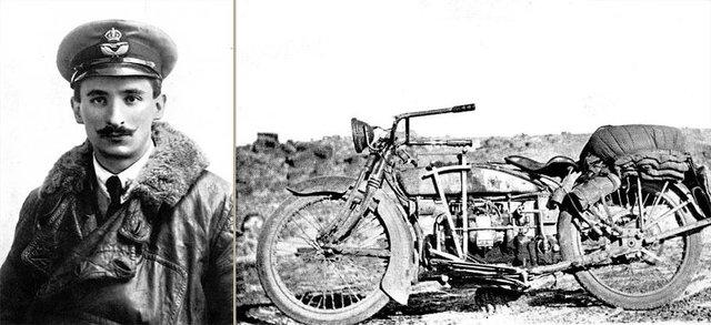 Мотоцикліст відправився в подорож Америкою на 100-літньому байку - фото 342181