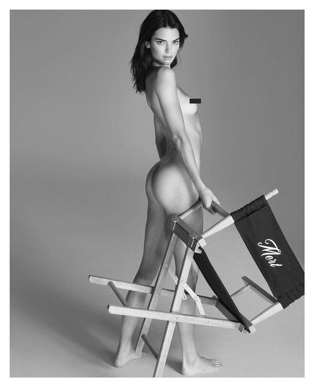Модель Кендалл Дженнер вразила абсолютно голими фото (18+) - фото 342326