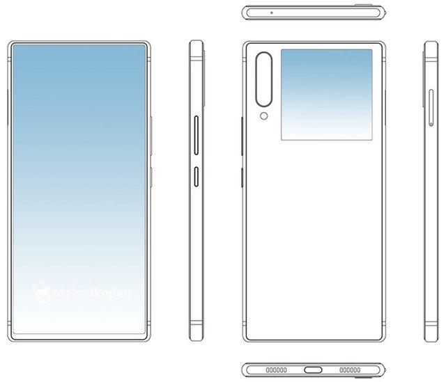 Десь ми таке бачили: Nubia патентує смартфон з двома екранами - фото 342648