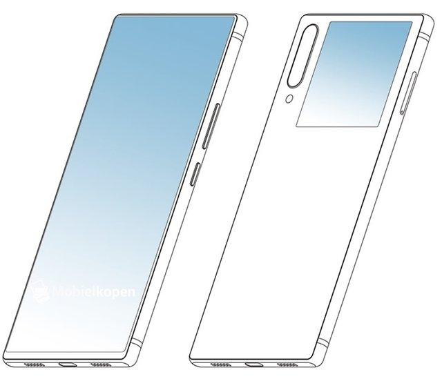 Десь ми таке бачили: Nubia патентує смартфон з двома екранами - фото 342649