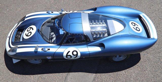 Унікальний прототип Jaguar з 60-х перетворили на спорткар - фото 342676
