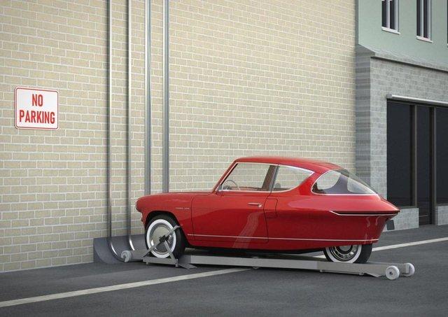 Автомобіль-павук: в Естонії показали машину, яка паркується на стінах - фото 342691
