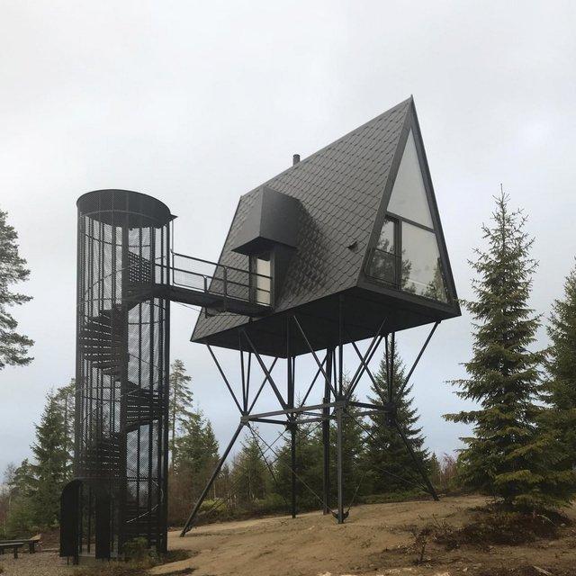 Посеред лісу в Норвегії з'явились ідеальні будиночки для інтровертів: фото - фото 342805