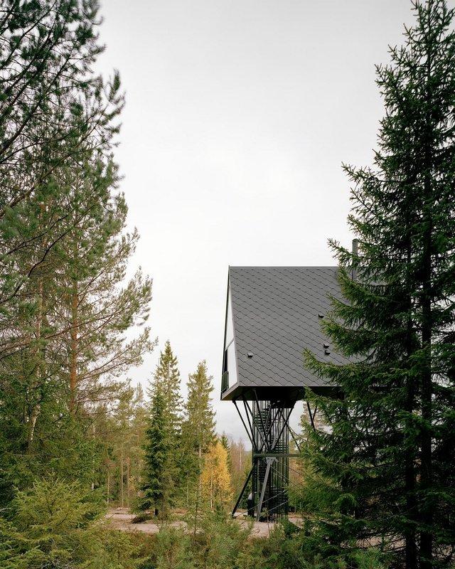 Посеред лісу в Норвегії з'явились ідеальні будиночки для інтровертів: фото - фото 342810