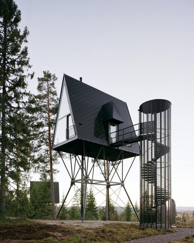 Посеред лісу в Норвегії з'явились ідеальні будиночки для інтровертів: фото - фото 342811