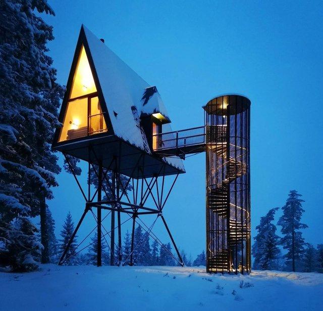 Посеред лісу в Норвегії з'явились ідеальні будиночки для інтровертів: фото - фото 342812