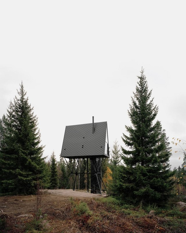 Посеред лісу в Норвегії з'явились ідеальні будиночки для інтровертів: фото - фото 342813