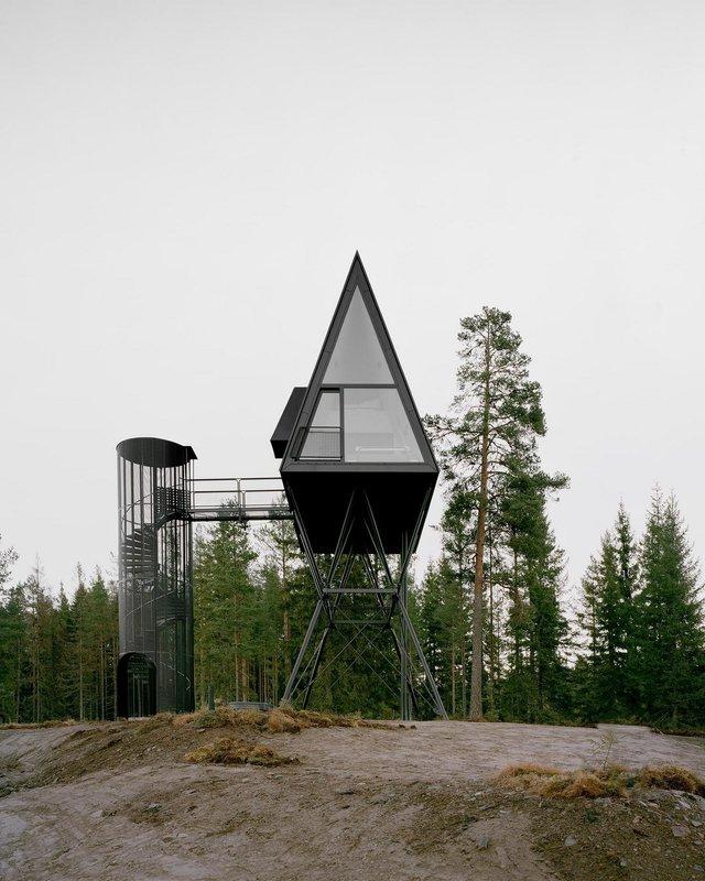 Посеред лісу в Норвегії з'явились ідеальні будиночки для інтровертів: фото - фото 342815