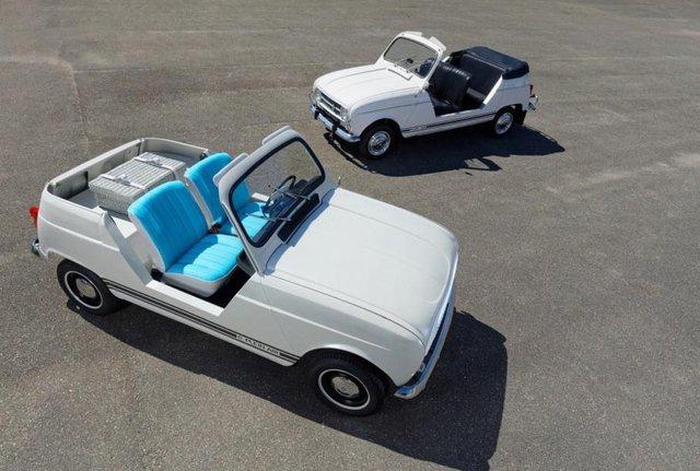 Тепер електричний кабріолет: культовий Renault 4 отримав новий вигляд - фото 342975
