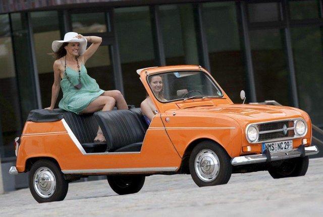 Тепер електричний кабріолет: культовий Renault 4 отримав новий вигляд - фото 342976
