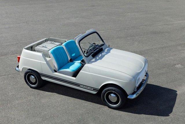 Тепер електричний кабріолет: культовий Renault 4 отримав новий вигляд - фото 342977