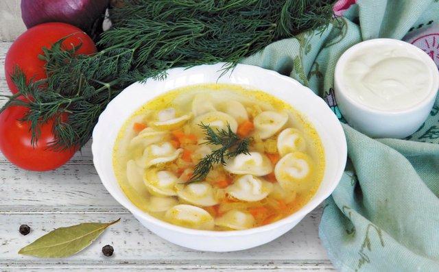 Суп з пельменями, рецепт  - фото 344408