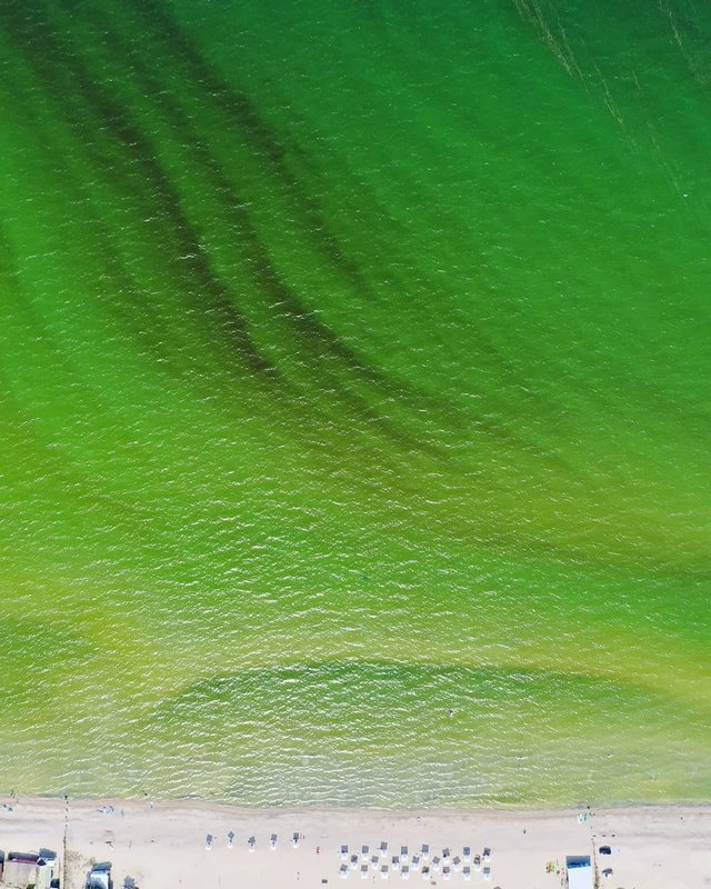 Порожні пляжі Криму показали з висоти пташиного польоту - фото 344878