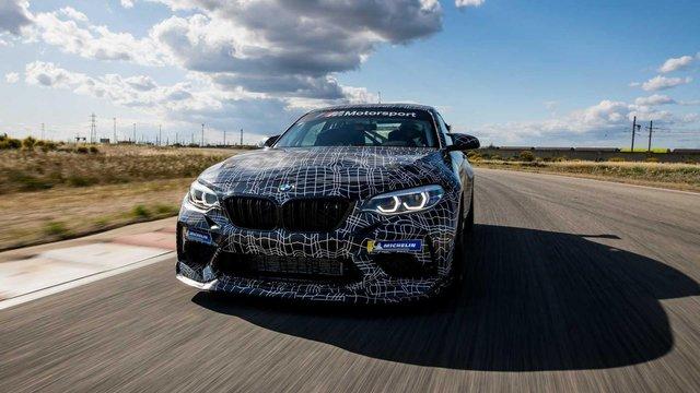 BMW уперше показала трекову M2 Competition - фото 345085