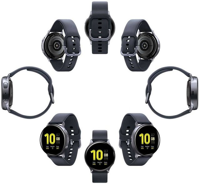 У мережі з'явилися якісні рендери смарт-годинника Samsung Galaxy Watch Active 2 - фото 345129