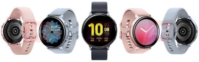 У мережі з'явилися якісні рендери смарт-годинника Samsung Galaxy Watch Active 2 - фото 345130