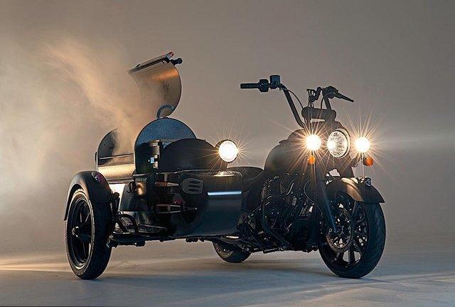 Умільці схрестили мотоцикл і гриль: ось що у них вийшло - фото 345330