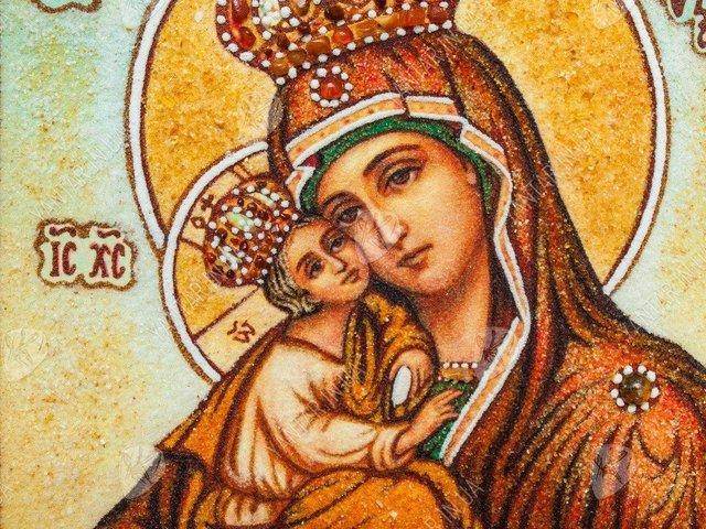 Почаївська ікона Божої Матері - фото 345408