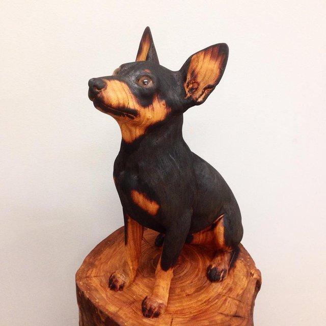 Іспанець вирізає з дерева реалістичних тварин: вражаючі фото - фото 345665