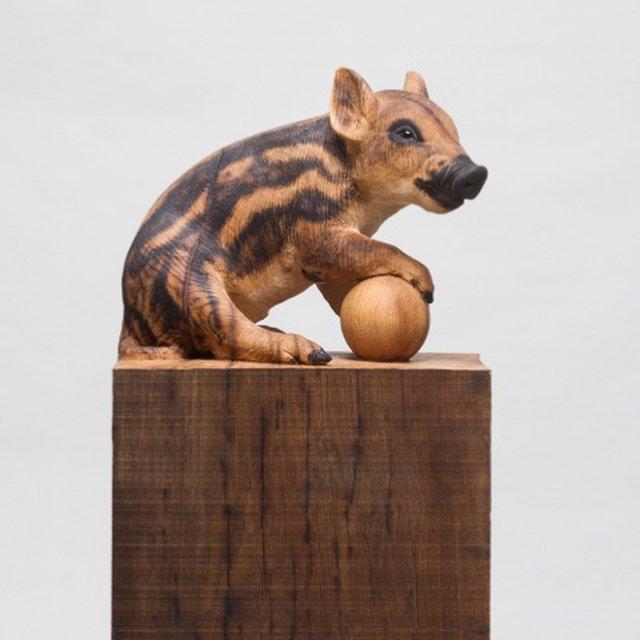 Іспанець вирізає з дерева реалістичних тварин: вражаючі фото - фото 345667