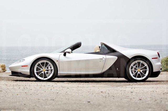 Надзвичайно рідкісний Ferrari Sergio пустять з молотка - фото 346225