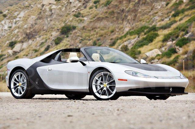 Надзвичайно рідкісний Ferrari Sergio пустять з молотка - фото 346228