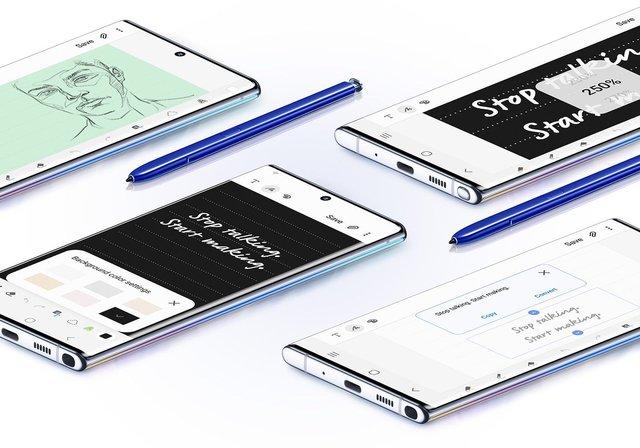 Samsung Galaxy Note10 та Note10+ показали офіційно - фото 346262