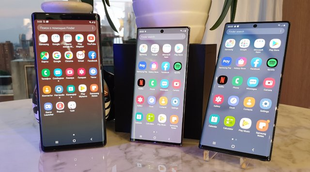 Galaxy Note9, Note10, Note10+ - фото 346263