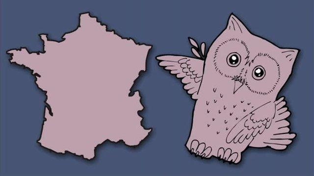 Італія – чобіт, а Франція  – сова: блогер перемалював карту Європи - фото 346431