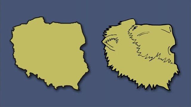 Італія – чобіт, а Франція  – сова: блогер перемалював карту Європи - фото 346434